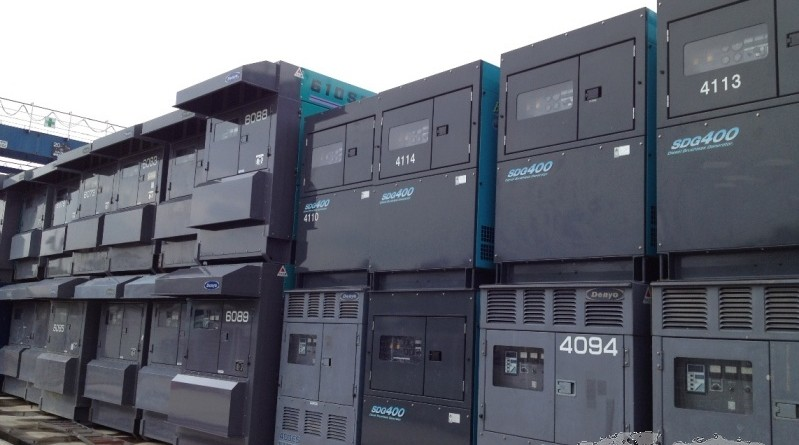 Renting the latest electrical generators